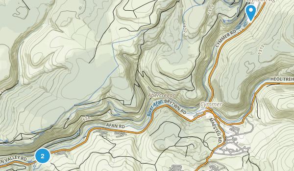 Afan Forest Park Map