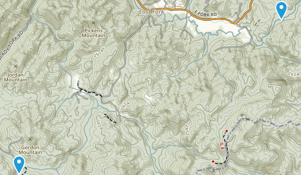 Headwaters State Forest Map