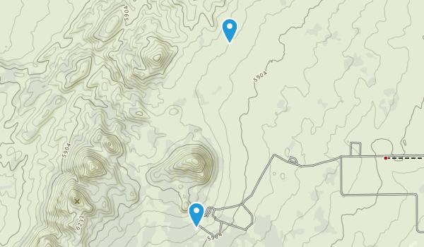 Three Peaks Recreation Area Map