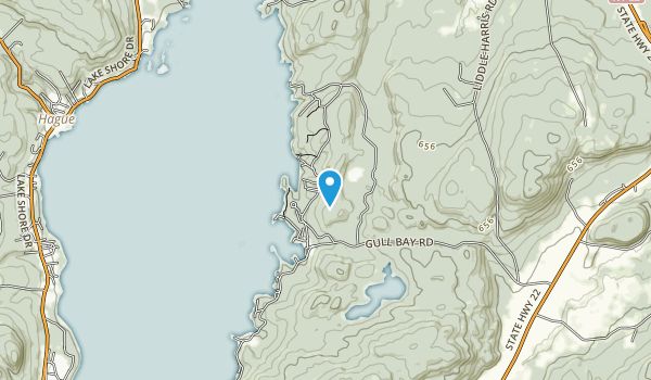Lake George Land Conservancy Map