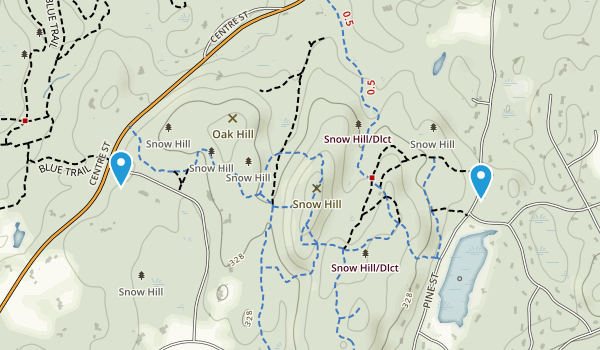 Snow Hill District Map