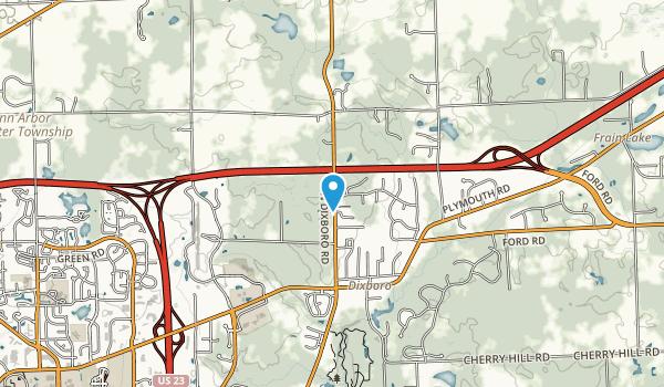 Raymond F. Goodrich Preserve Map