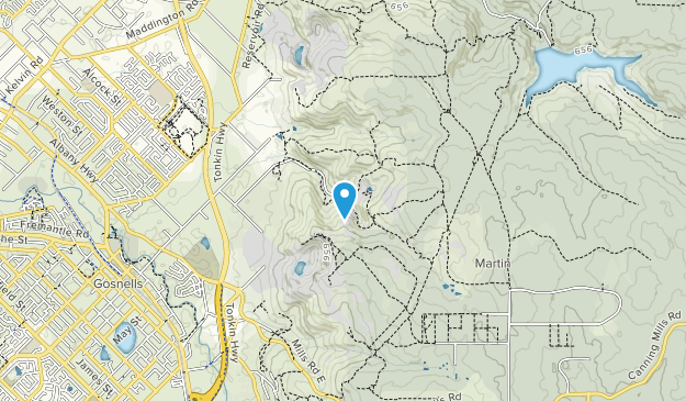 Banyowla Regional Park Map