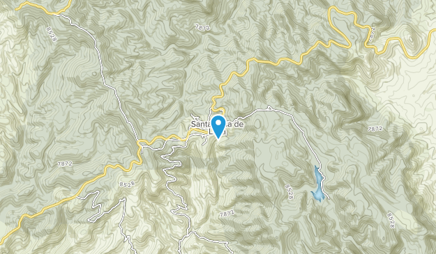 Sierra de Santa Rosa Map