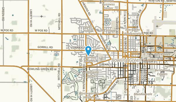 Simpson Garden Park Map