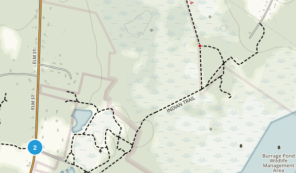 Burrage Pond Wildlife Management Area Map
