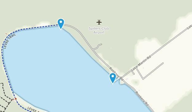 Cypress Preserve/Lake Martin Map