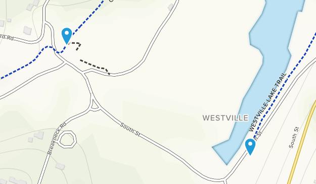 Westville Recreation Area Map