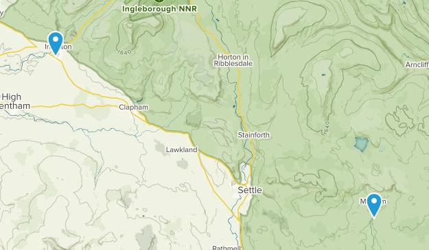 Yorkshire Dales National Park Map