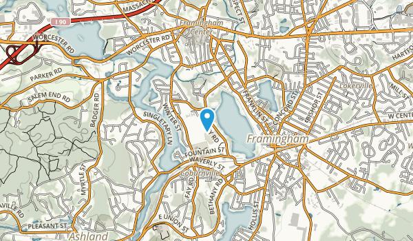 Cushing Park Map