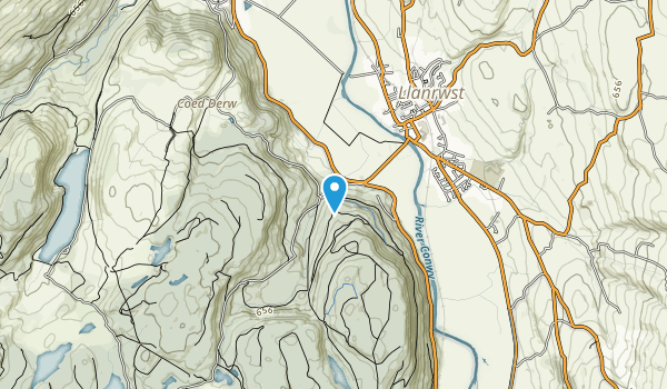 Gwydyr Forest Map