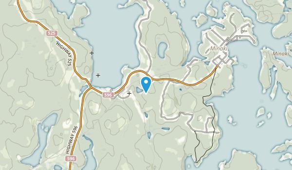 Minaki Map