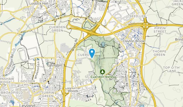 Cuerden Valley Park Map