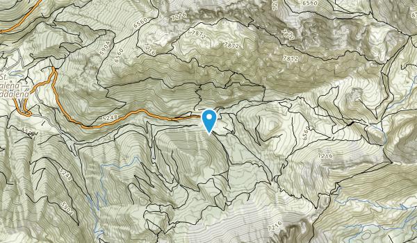 Puez-Geisler Nature Park Map