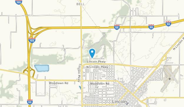 Kickapoo Creek County Park Map