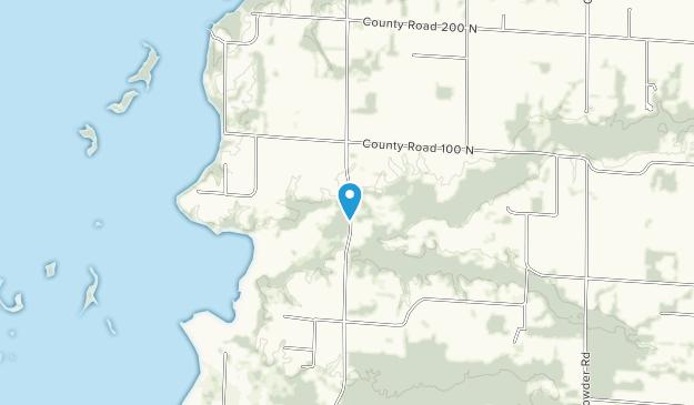 Thomas M Pigg Wetland Restoration Area Map