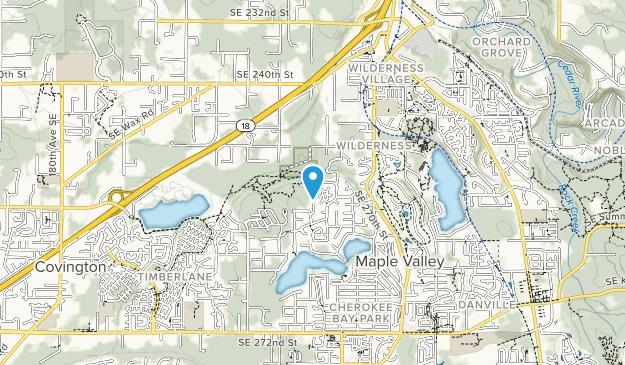 Cedar Downs Park Map