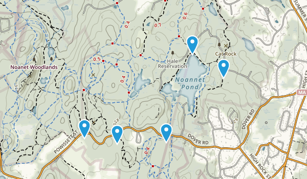 Hale Reservation Map