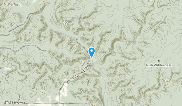 Whitten Recreation Area Map