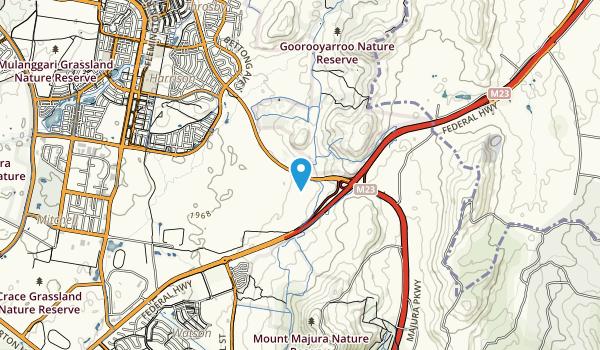 Goorooyaroo Nature Reserve Map