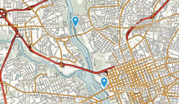 River Front Park Map