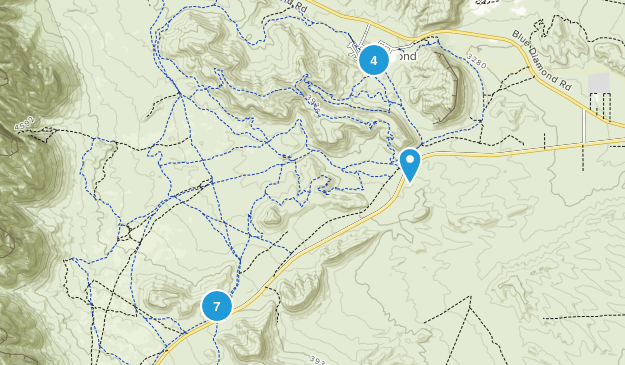 Cottonwood Valley Trail System Map