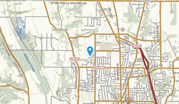Oak Hill Park Map