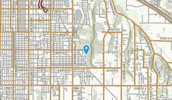 Swan Creek Park Metro Map