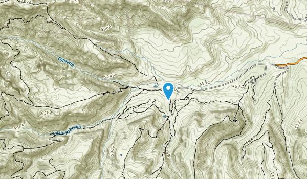 Cathedral Peak Hike Map