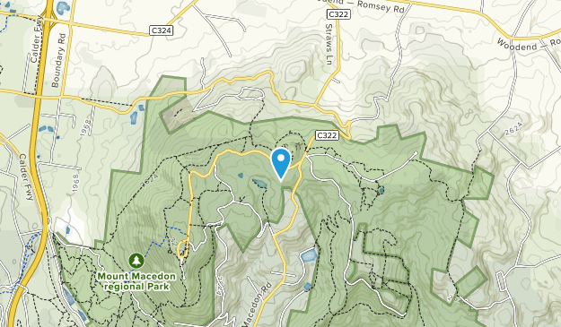 Mount Macedon Regional Park Map