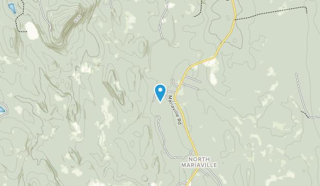 Mariaville Falls Preserve Map