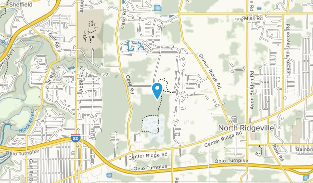 Sandy Ridge Reservation Map