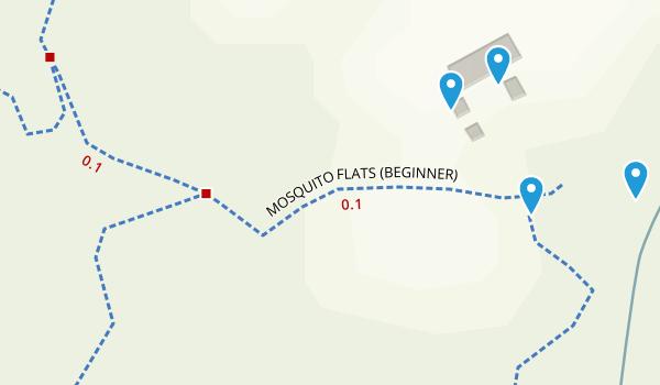 Blanket Creek MTB Park Map
