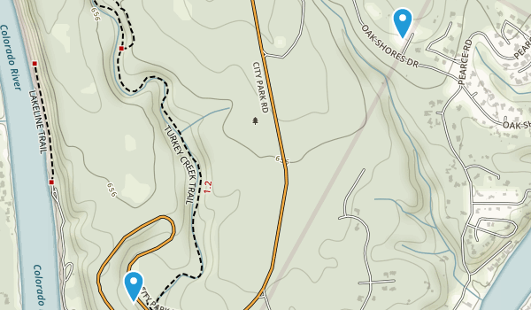 Emma Long Motocross Park Map