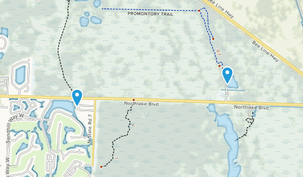 Grassy Waters Preserve Map