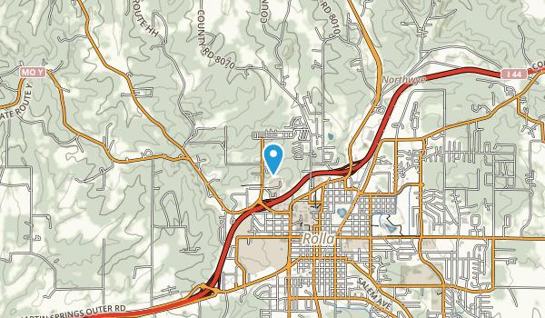 Audubon Trails Nature Center Map
