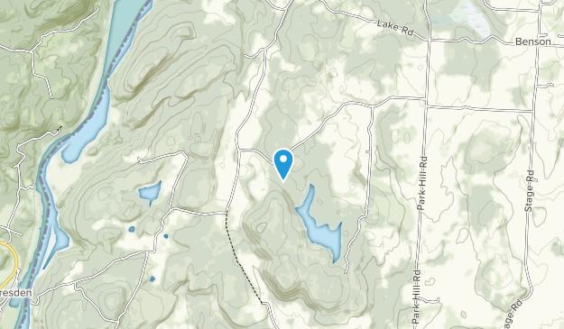 Shaw Mountain Preserve Map