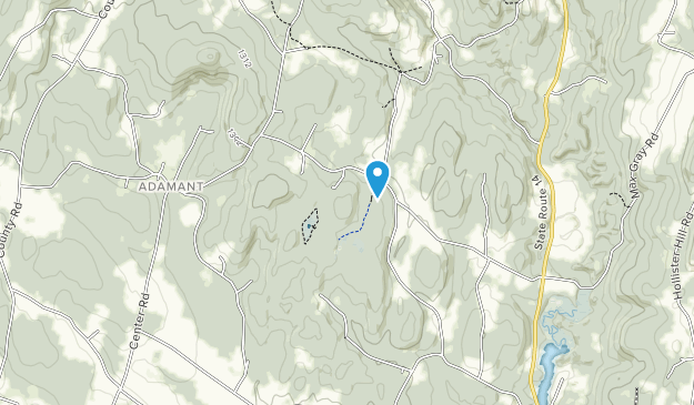 Chickering Bog Preserve Map