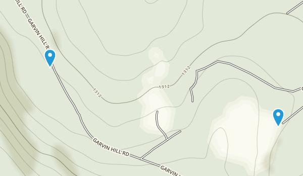 Eshqua Bog Preserve Map