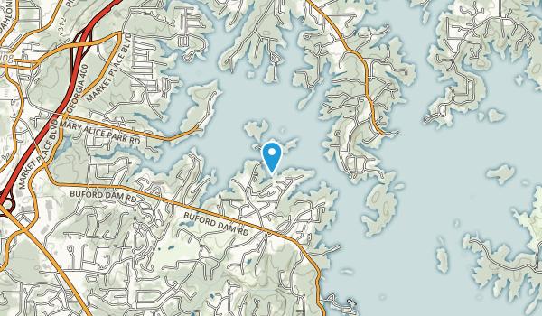 Little Ridge Park Map