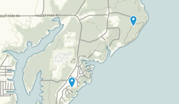 Eldon Hazlet State Park Map