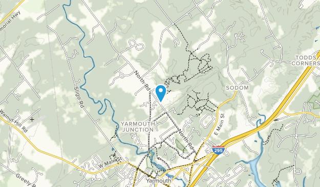 Pratt's Brook Park Map