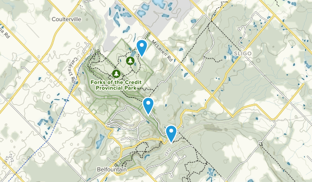 Forks of the Credit Provincial Park Map