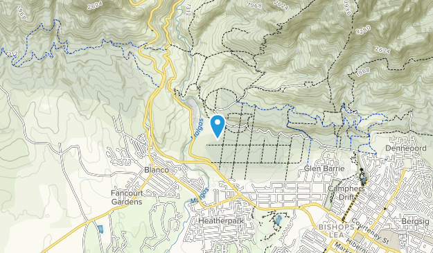 Outeniqua Nature Reserve Map