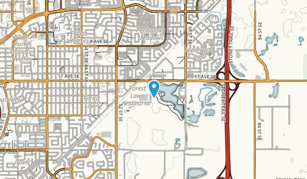 Elliston Park Map
