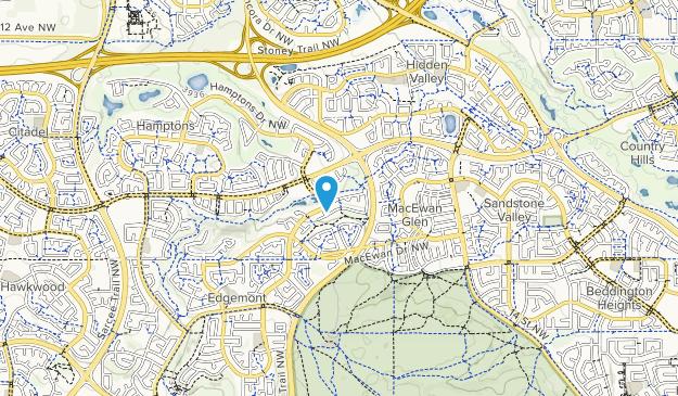 Edgemont Ravine Map