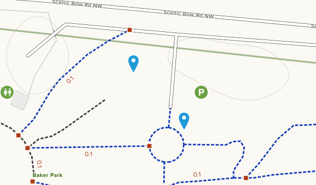 Baker Park Map