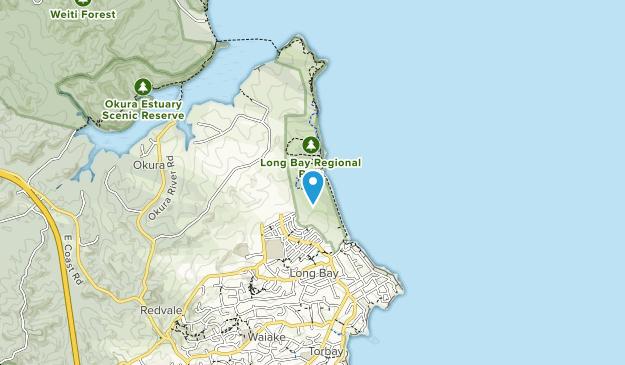 Long Bay Regional Park Map