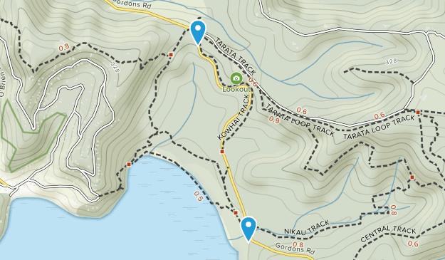 Whakanewha Regional Park Map