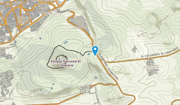 Parque Nacional el Cimatario  Map